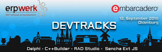 Embarcadero – DevTracks 12. September 2018, in Oldenburg